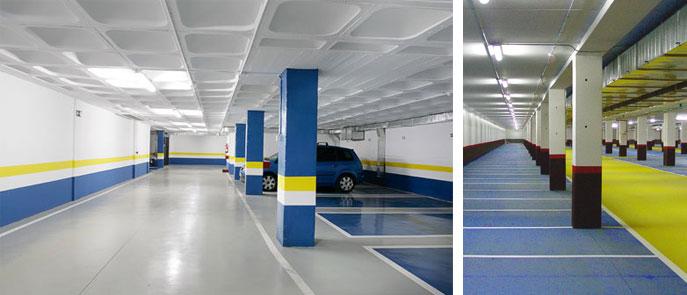 Valladolid pintores pintor suelos for Pintura suelo parking